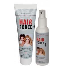 HAIR FORCE ONE SHAMPOO + HAARLOTION - für schnelleres Haarwachstum bis zu 152%!