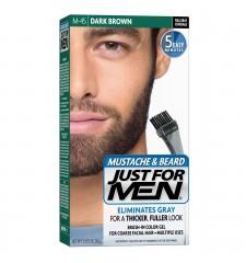 JUST FOR MEN - Farbe für das Barthaar in Gelform: dunkelbraun schwarz M45