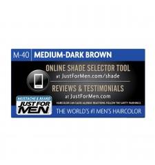 JUST FOR MEN - Farbe für das Barthaar in Gelform: Mittel - dunkelbraun M40
