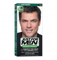 JUST FOR MEN - Haarfarbe in Shampooform: Dunkelbraun H45